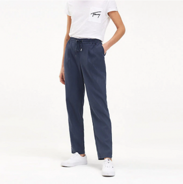 PANTALONE TOMMY HILFIGER, PANTALONE TOMMY HILFIGER nuova collezione, PANTALONE TOMMY HILFIGER donna, PANTALONE TOMMY HILFIGER donna nuova collezione, PANTALONE TOMMY HILFIGER a maniche corte, PANTALONE TOMMY HILFIGER mezze maniche, nuova collezione tommy
