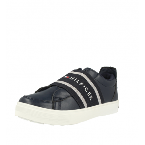 Tommy Hilfiger T3B4-30508-0744 Blu Eco In Pelle Gioventù